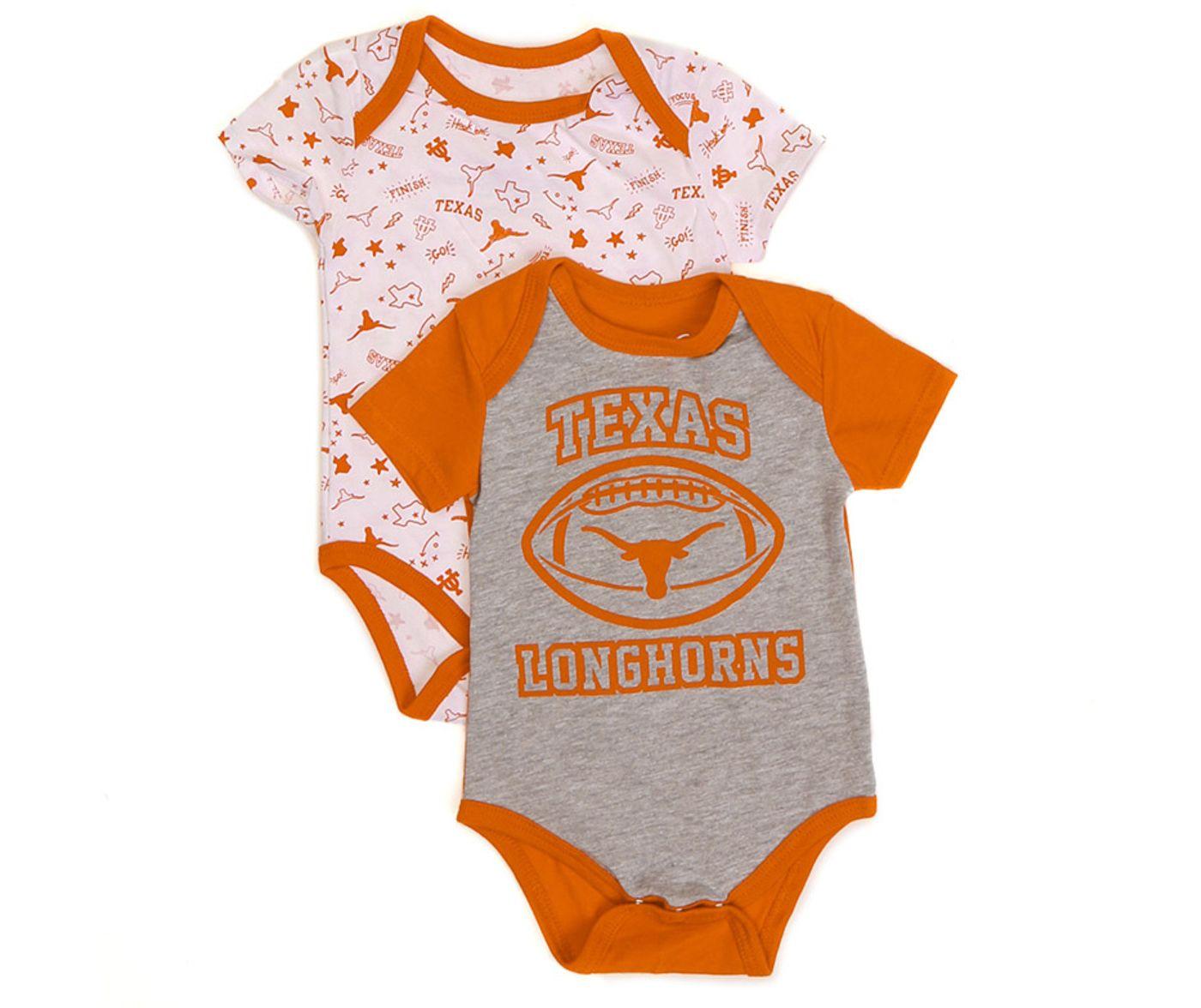 University of Texas Authentic Apparel Infant Texas Longhorns Woodwin 2-Pack Bodysuit Set