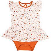 University of Texas Authentic Apparel Infant Texas Longhorns White/Burnt Orange Maggie Bodysuit
