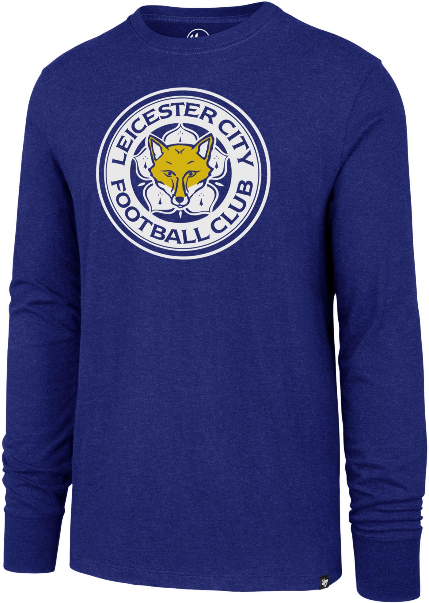 '47 Men's Leicester City Club Royal Long Sleeve Shirt