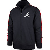 '47 Men's Atlanta Braves Rundown Full-Zip Track Jacket