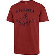 '47 Men's Atlanta Braves Red Scrum T-Shirt
