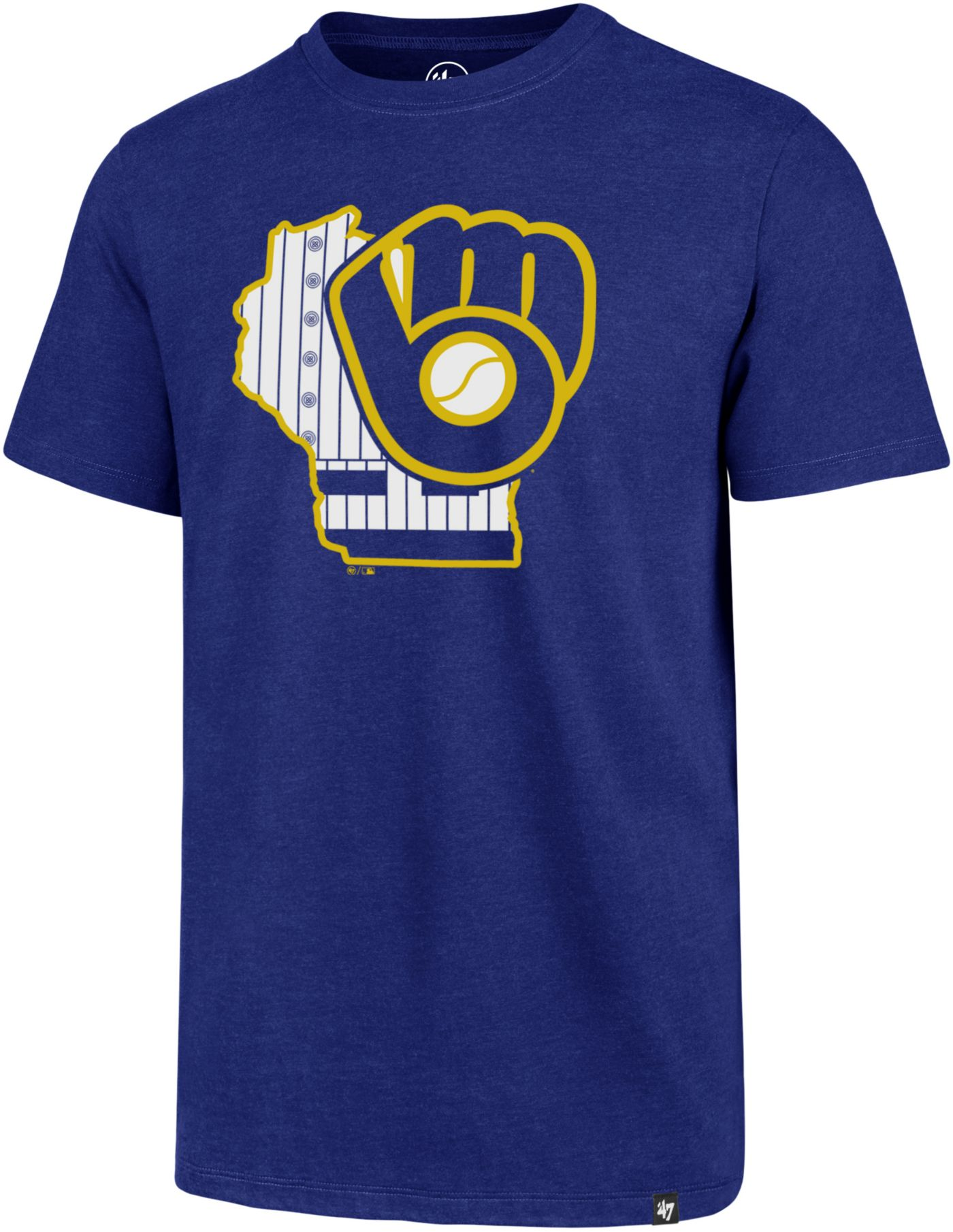 '47 Men's Milwaukee Brewers Club T-Shirt
