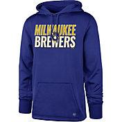 '47 Men's Milwaukee Brewers Headline Pullover Hoodie