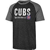'47 Men's Chicago Cubs Match Raglan T-Shirt