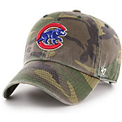 '47 Men's Chicago Cubs Camo Clean Up Adjustable Hat