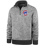 '47 Men's Chicago Cubs Kodiak Quarter-Zip Pullover