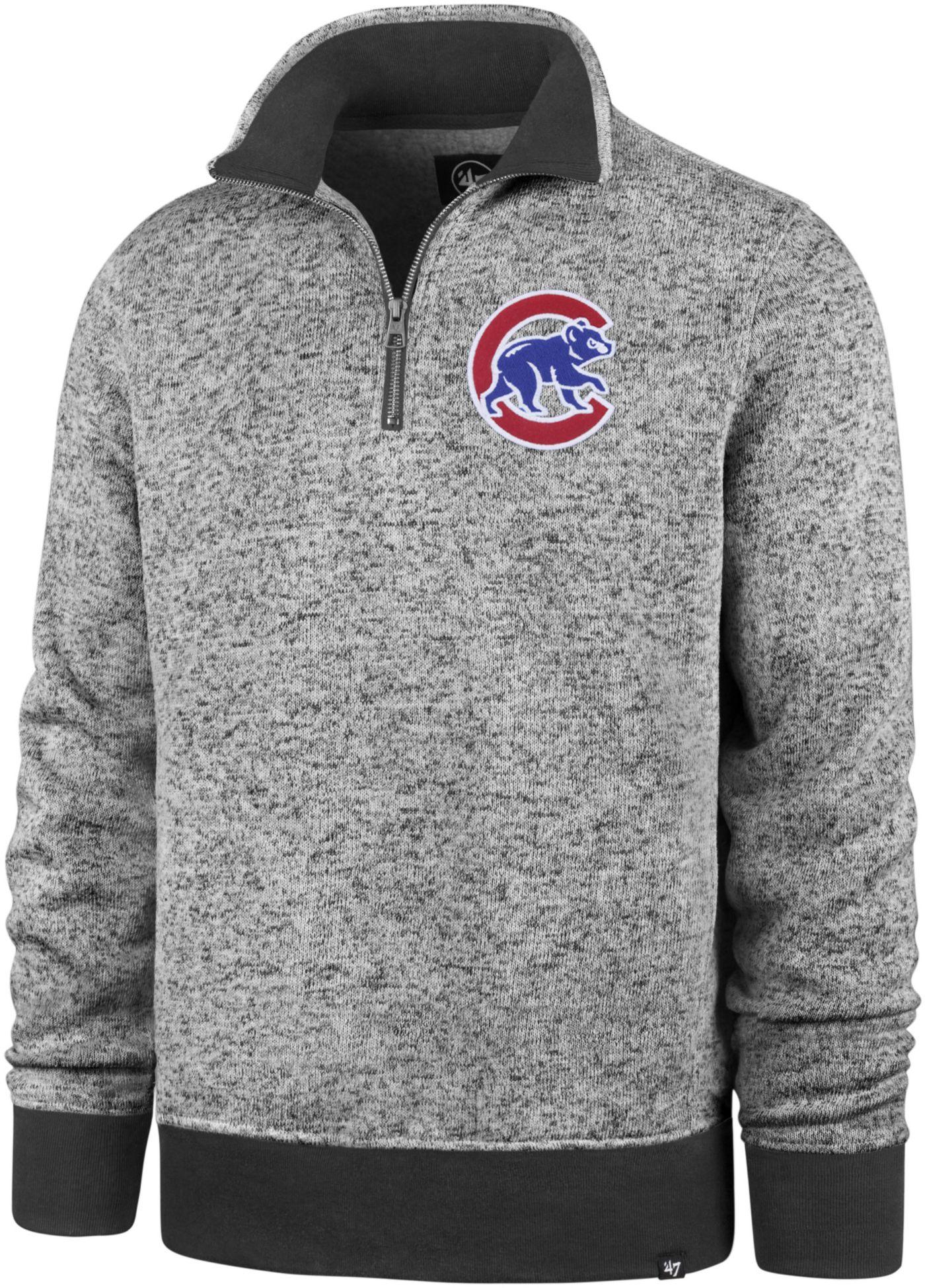'47 Men's Chicago Cubs Kodiak Quarter-Zip Pullover