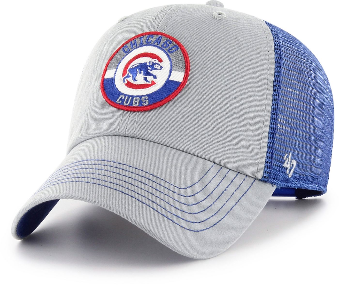 '47 Men's Chicago Cubs Porter Clean Up Adjustable Hat