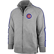 '47 Men's Chicago Cubs Rundown Full-Zip Track Jacket