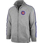 '47 Men's Chicago Cubs Rundown Full-Zip Track Jacket