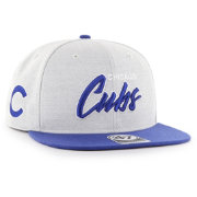 '47 Men's Chicago Cubs Street Script Captain Adjustable Snapback Hat