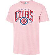 '47 Men's Chicago Cubs Vintage Pink T-Shirt