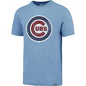 '47 Men's Chicago Cubs Blue Scrum T-Shirt
