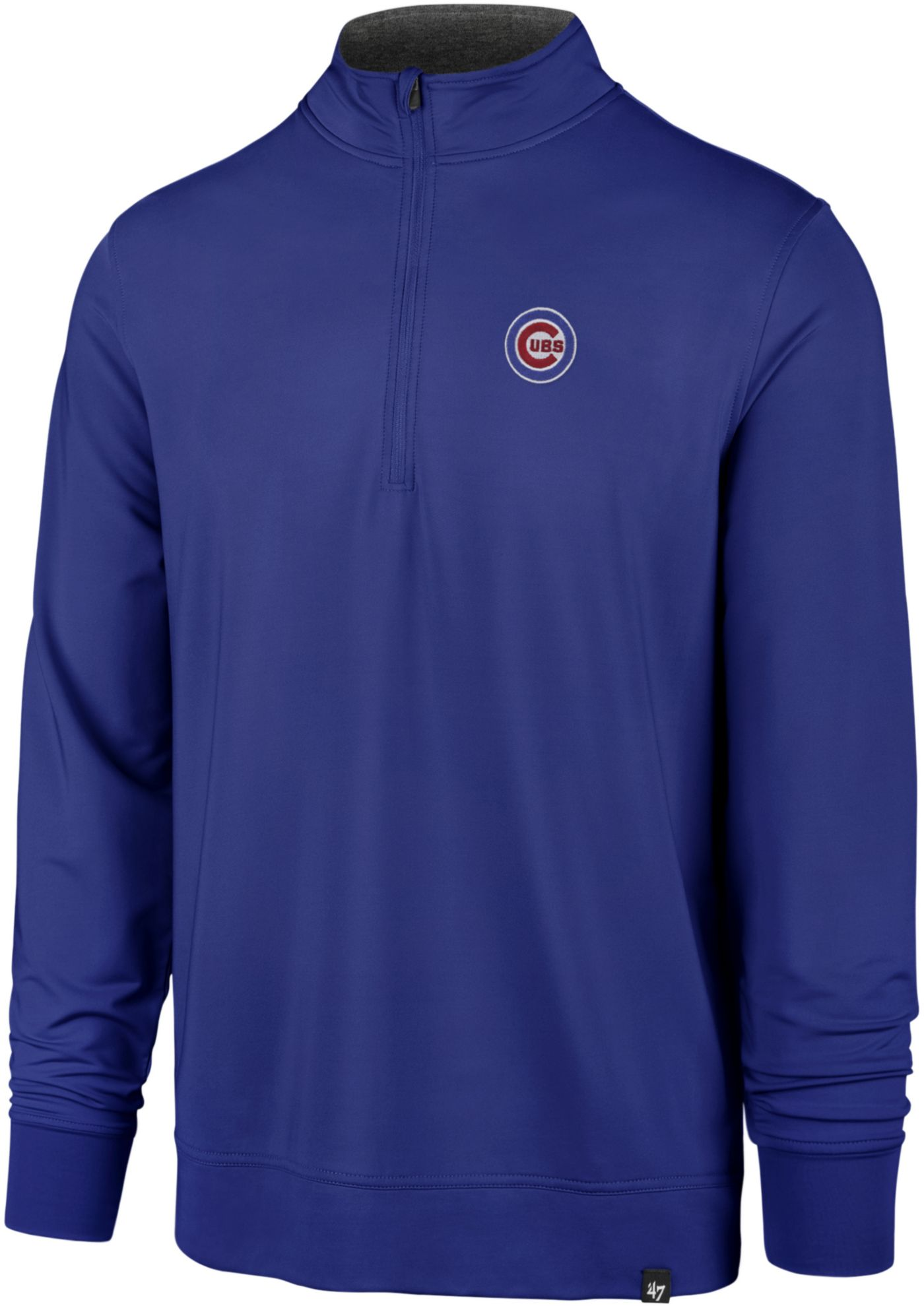 '47 Men's Chicago Cubs Relay Quarter-Zip Pullover