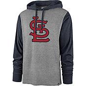 '47 Men's St. Louis Cardinals Grey Callback Sport Fleece Pullover Hoodie