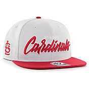'47 Men's St. Louis Cardinals Street Script Captain Adjustable Snapback Hat