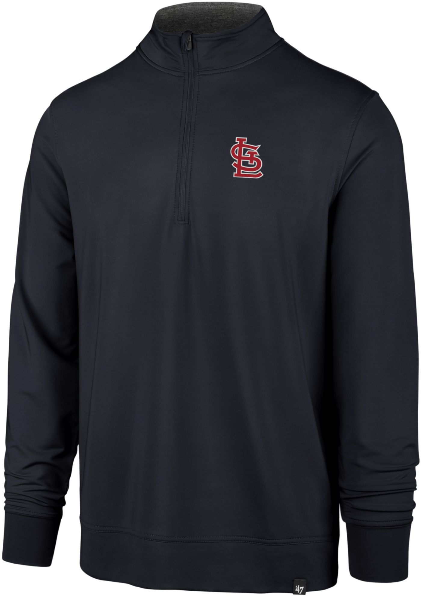 '47 Men's St. Louis Cardinals Relay Quarter-Zip Pullover