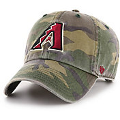 '47 Men's Arizona Diamondbacks Camo Clean Up Adjustable Hat