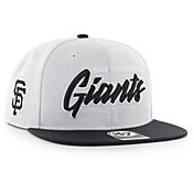 '47 Men's San Francisco Giants Street Script Captain Adjustable Snapback Hat