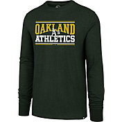 '47 Men's Oakland Athletics Club Long Sleeve Shirt