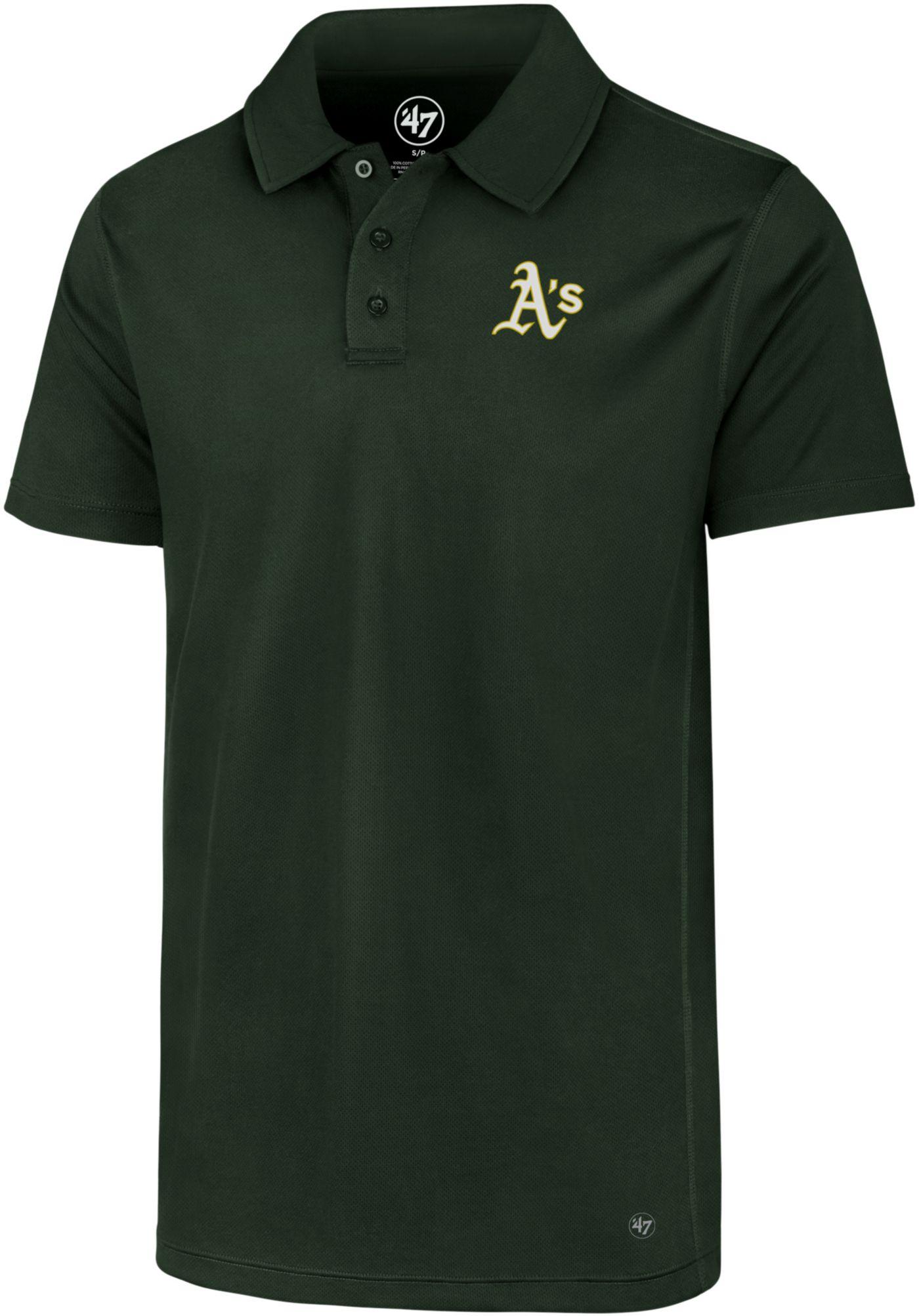 '47 Men's Oakland Athletics Ace Performance Polo
