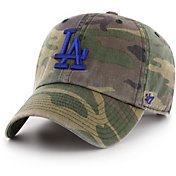 '47 Men's Los Angeles Dodgers Camo Clean Up Adjustable Hat
