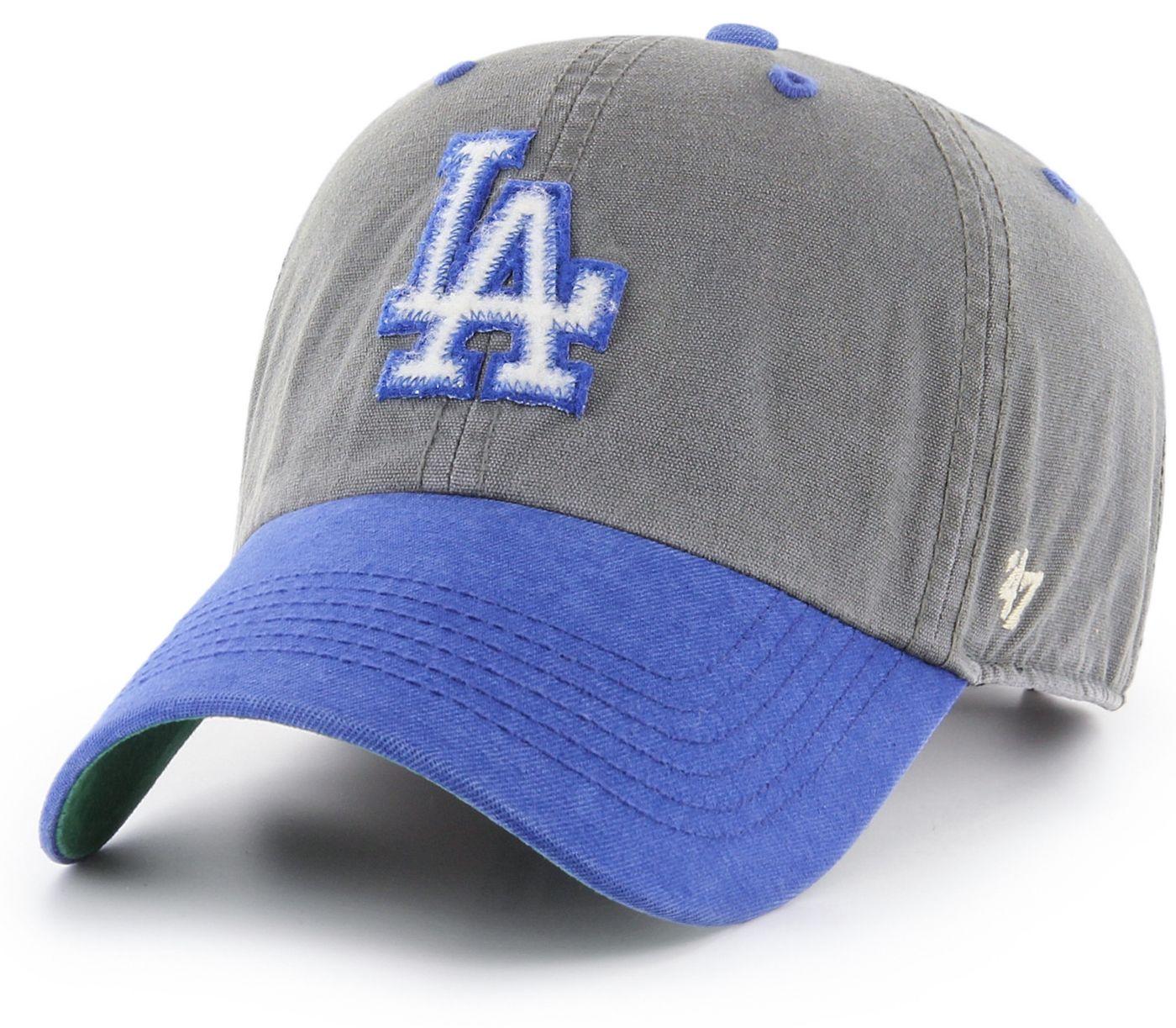 '47 Men's Los Angeles Dodgers Prewett Clean Up Adjustable Hat