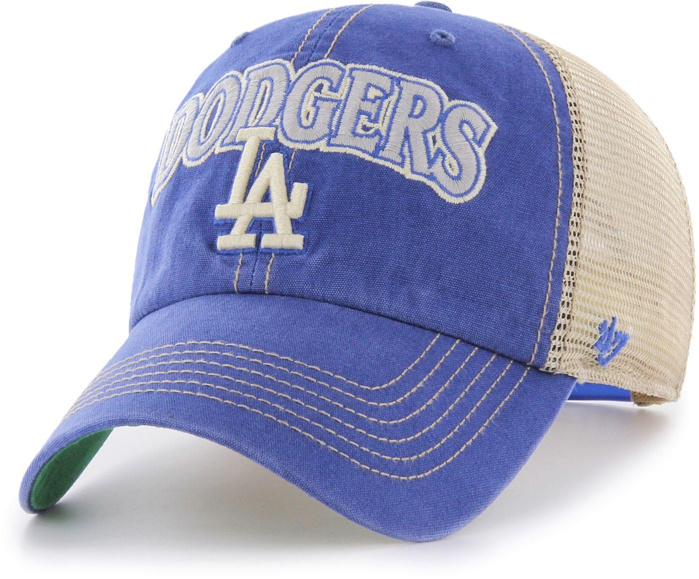 '47 Men's Los Angeles Dodgers Tuscaloosa Clean Up Adjustable Hat