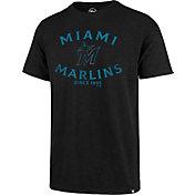 '47 Men's Miami Marlins Black Scrum T-Shirt
