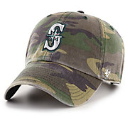 '47 Men's Seattle Mariners Camo Clean Up Adjustable Hat