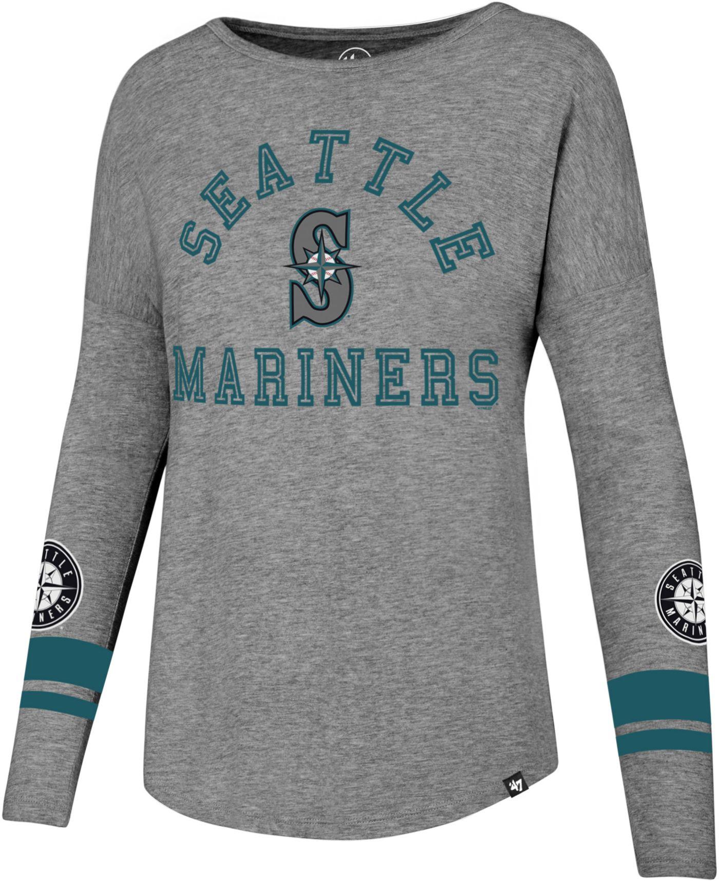 '47 Women's Seattle Mariners Long Sleeve Crew