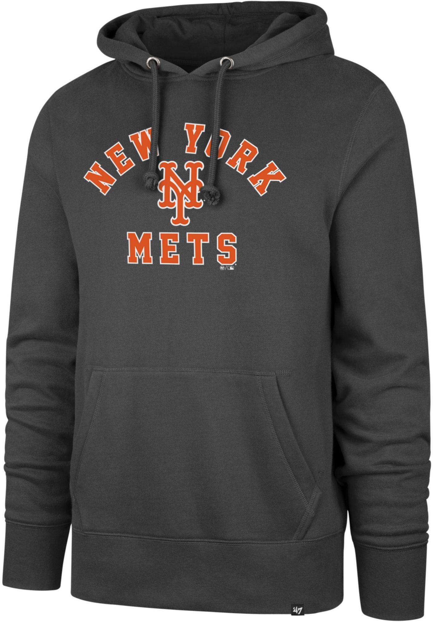'47 Men's New York Mets Headline Pullover Hoodie
