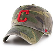 '47 Men's Cleveland Indians Camo Clean Up Adjustable Hat