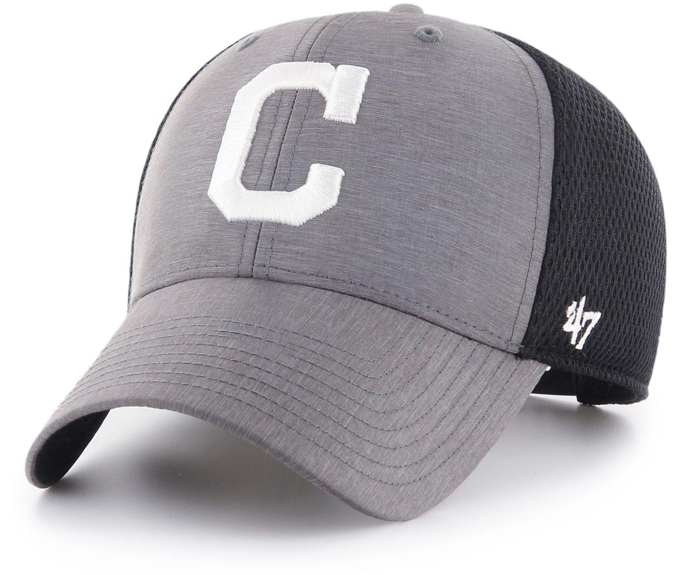 '47 Men's Cleveland Indians Grimm MVP Adjustable Hat