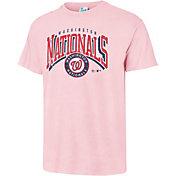 '47 Men's Washington Nationals Vintage Pink T-Shirt