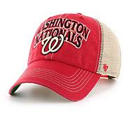 '47 Men's Washington Nationals Tuscaloosa Clean Up Adjustable Hat
