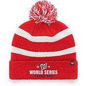 '47 Men's 2019 World Series Champions Washington Nationals Knit Hat