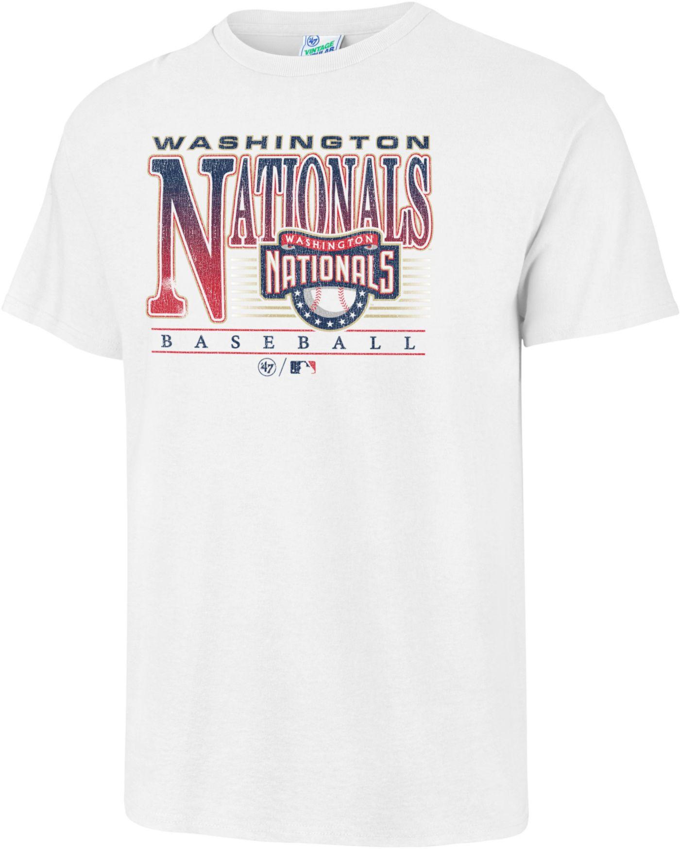 '47 Men's Washington Nationals Vintage White T-Shirt