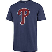 '47 Men's Philadelphia Phillies Blue Scrum T-Shirt