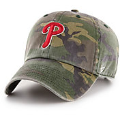 '47 Men's Philadelphia Phillies Camo Clean Up Adjustable Hat