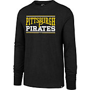 '47 Men's Pittsburgh Pirates Club Long Sleeve Shirt