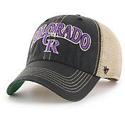 '47 Men's Colorado Rockies Tuscaloosa Clean Up Adjustable Hat