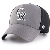 '47 Men's Colorado Rockies Grimm MVP Adjustable Hat