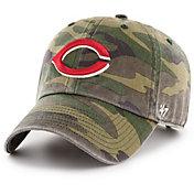 '47 Men's Cincinnati Reds Camo Clean Up Adjustable Hat