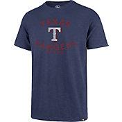 '47 Men's Texas Rangers Blue Scrum T-Shirt