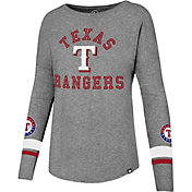 '47 Women's Texas Rangers Long Sleeve Crew