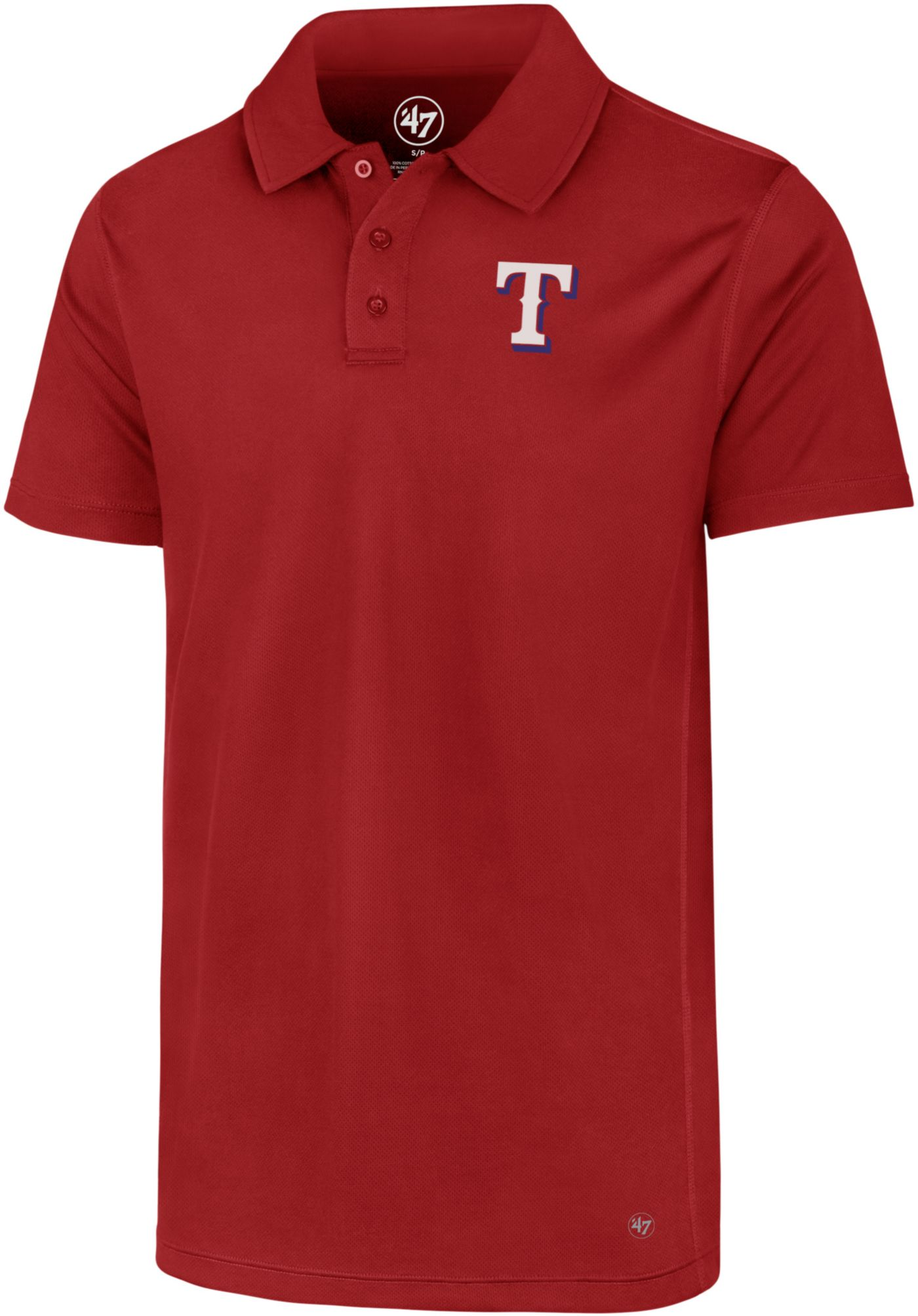 '47 Men's Texas Rangers Ace Performance Polo