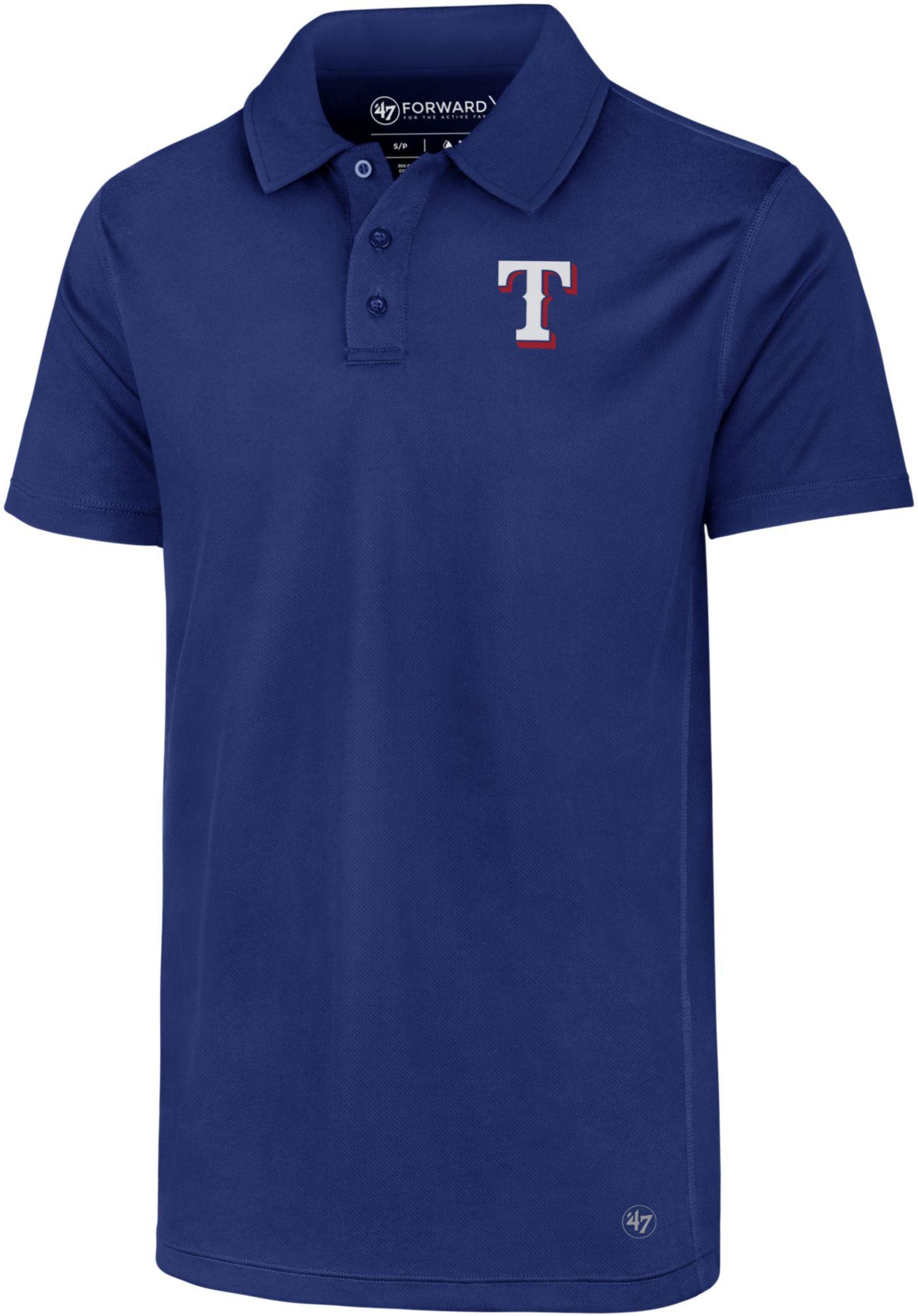 '47 Men's Texas Rangers Ace Performance Polo