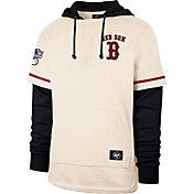 '47 Men's Boston Red Sox Navy Shortstop Pullover Hoodie