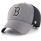 '47 Men's Boston Red Sox Grimm MVP Adjustable Hat